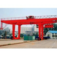 Quality Mobile Container Gantry Crane Double Girder RMG 35 Ton With 23 28 35m Span for sale