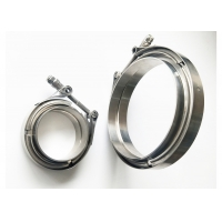 Quality Standard Latch 3 V Band Clamp And Flange Kit Female / Male for sale