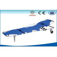 Quality Foldable Adjustable Ambulance Stretcher , Patient Foldaway Stretcher for sale