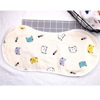 Eco Friendly Muslin Toddler Bandana Bibs All Season Used Customized Color