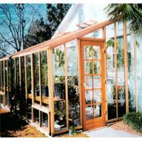 Quality 2012 most elegant tempered glass greenhouse HX-9110G for sale
