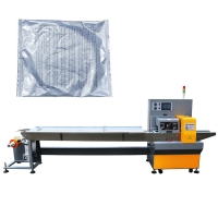 China 120bag/Min Discount Coupon Pillow Pouch Packaging Machine on sale