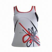 Buy cheap Women's Sports Tank/Women's Fitness wear with special design from wholesalers