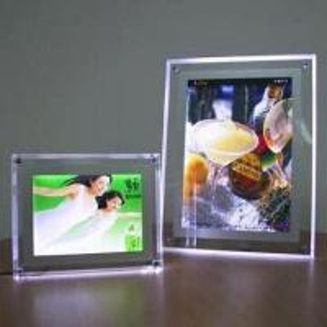 Quality Acrylic LED Light Panel Poster, LED Light Boxes, 12V Voltage for sale
