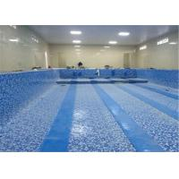Quality 1.2mm, 1.5mm, 2.0mm swimming pool pvc liner/pvc coated polyester mesh fabric/ pvc lamination sheet for sale