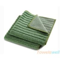 Quality Microfiber Kitchen Dish Cloth with Mesh  super absorbent,strong detergency,Lint free, for sale