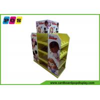Custom Made Cardboard Pallet Display With 4 Sides Products Promotion PA032