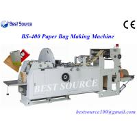 Buy High Speed Fully Automatic Sharp Bottom Food Kraft Paper Bag Making Machine at wholesale prices