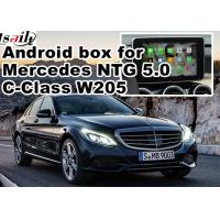 Quality WIFI car navigation box , android car navigation system DC9-15V Mercedes benz C class for sale