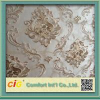 Quality Jacquard Embossed Modern Decorative Wallpaper for bedrooms for sale