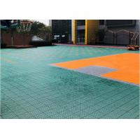 Non Toxic Outdoor Sports Flooring Multicourt Suitable Anti Parasites Bacteria