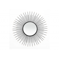Buy Sunburst Dotted Metal Wall Art Mirror at wholesale prices