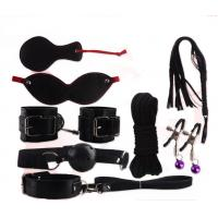 Buy cheap 8 PCS Handcuffs Mouth Stuffed Patch Rope Sex Bondage Restraints Toys Set For Adult from wholesalers