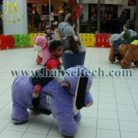Buy Hansel top selling products 2016 plush animal electric scooter for malls at wholesale prices