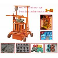 Quality Brick Making Machine Manufacturer 2-45 Used Block Making Machine from China Factory for sale