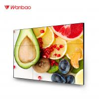 Quality TV Wall LCD Splicing Screen 49 Inch Brightness 2200nits Touch Screen for sale