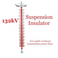 Quality 132kV Polymer Suspension Type Insulators Light Weight For Substations for sale