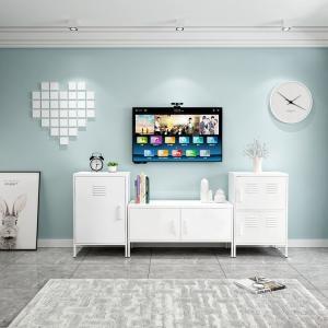 Quality Modern Bedroom Furniture Metal Tv Stand Living Room Cabinet Knocked Down for sale