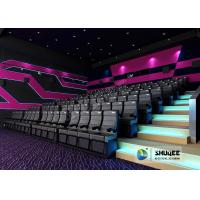 Buy cheap 4D Movie Theater With Effects , Electric Chair 4D Cinema ,Many Color For Choice product