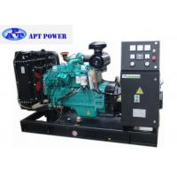 China 3 Phase 90kW cummins diesel generator set for home use , Open Type on sale