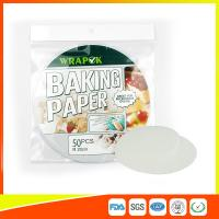 "Quality Silicone 8 "" Kitchen Non Stick Baking Sheet / Parchment Paper For Cooking for sale"