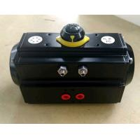 Buy cheap AT series double action or single action black body pneumatic rotary actuator for butterfly valve and ball valve product
