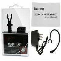 Quality Multipoint Mono Bluetooth Headset for Cell Phone V3.0 EDR CR-M21 for sale