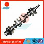 Quality diesel engine crankshaft wholesale 6D105 Crankshaft 6136-31-1110 for KOMATSU excavator PC150-1 PC200 for sale