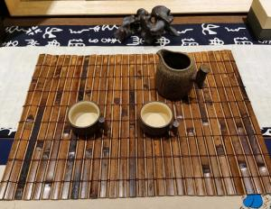 Quality Eco Friendly 45x30cm 5mm Thick Woven Bamboo Placemats for sale
