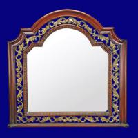 Quality 4046 Hot Sale Wooden Look Classic Mirror Frame for sale