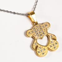 China 316 Stainless Steel 18K Gold Plated Pendants , Heart Shaped Pendant For Girl on sale