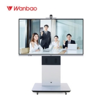"""Quality 65"""" 4k Smart Whiteboard Intelligent Interactive Flat Panel For Teaching for sale"""