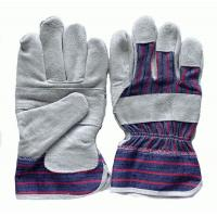 China Cow split leather working glove on sale