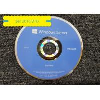 Buy cheap English Ms Windows Server Standard 2016 64 Bit DSP OEI DVD 16 Core from wholesalers