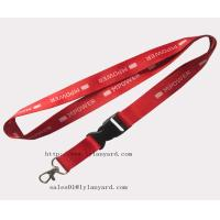 Quality Fast Delivery Red Color Decorative Lanyards for sale