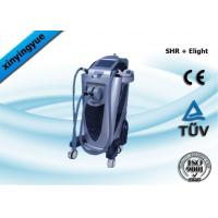 China SHR E Light IPL Skin Rejuvenation Equipment Wrinkle Removal Machine With Two Handles on sale