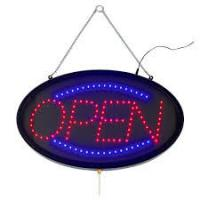 Buy cheap Indoor Outdoor LED Open Sign Lighted Red Blue Letter For Retail Business from wholesalers