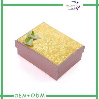 Buy cheap Luxury Clothing Packaging Paper Gift Boxes With Custom Printed Logo from wholesalers