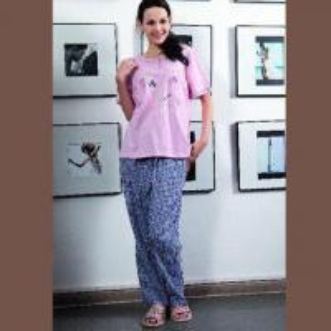 China Women's Pajamas Set, Made of 100% Cotton, Elegant and Comfortable on sale