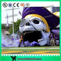Quality Giant Event Entrance Tunnel Inflatable Skeleton Skull Replica for sale