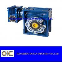 Quality Transmission Worm reduction gearbox for conveyor , agricultural bevel gearbox reducer for sale