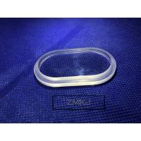 Quality High Purity Sapphire Wafer , Sapphire Crystal Glass Optical Steps Polished Lens for sale