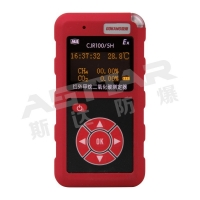 Quality infrared methane carbon detector, methane dioxide, CH4 CO gas detector alarm for sale
