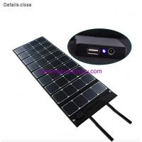 Quality High-quality 120W Elegant solar charger for outdoor activities etc for sale