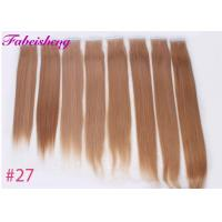 Buy cheap Brazilian Virgin Seamless Tape In Hair Extensions One Donor Full Cuticle product
