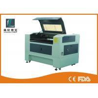 China High Accuracy Desktop CO2 Laser Engraver , LCD Control Fabric Laser Engraving Machine on sale