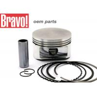Quality CG 125 FAN 09 Aftermarket Motorcycle Pistons , Silver Motorbike Piston Kit for sale