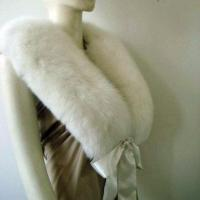 Buy cheap White Fox Fur Collars product