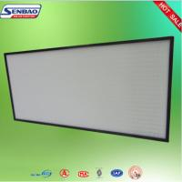 Quality Mini Pleat Ultra ULPA Air Filter Fiberglass for Electronic And Clean Room for sale