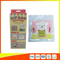 Buy cheap Cartoon Custom Printed Resealable Bags With Zipper Top For Food / Candy / Cookies product